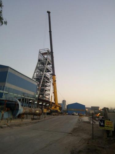 100 M.t Crane